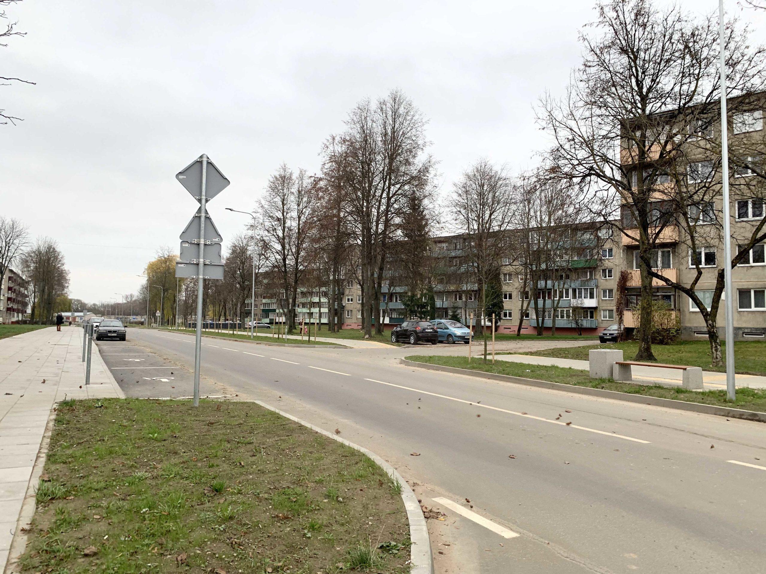 P. Lukšio gatvės rekonstrukcija, Kėdainiai
